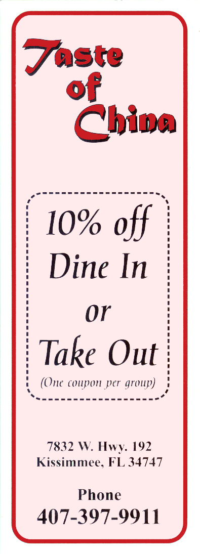 Coupons kissimmee fl
